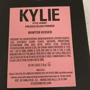 Kylie Cosmetics Winter Kissed Blush Brand New